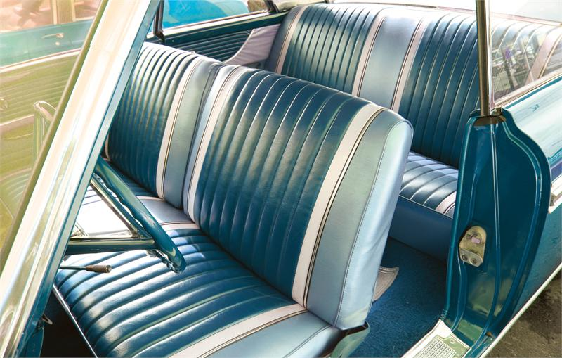 Seat Upholstery Imported 1962 63 Galaxie 500xl Seat