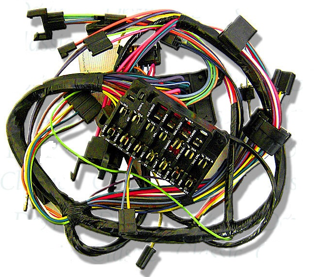 Dash Wiring Harness  1967 Pontiac Firebird