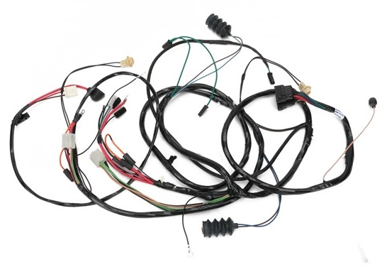 forward lamp wiring harness  1967 chevrolet camaro