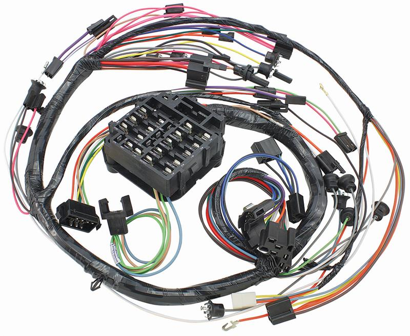Dash Wiring Harness, 1968 Chevrolet Chevelle