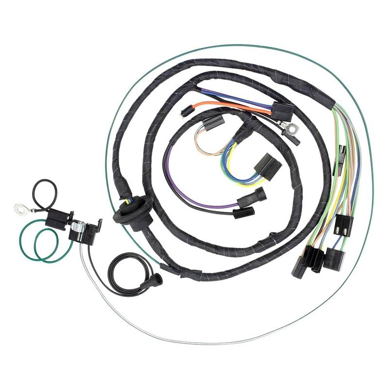Air Conditioning Harness W   Heater Wiring  1972 Chevrolet