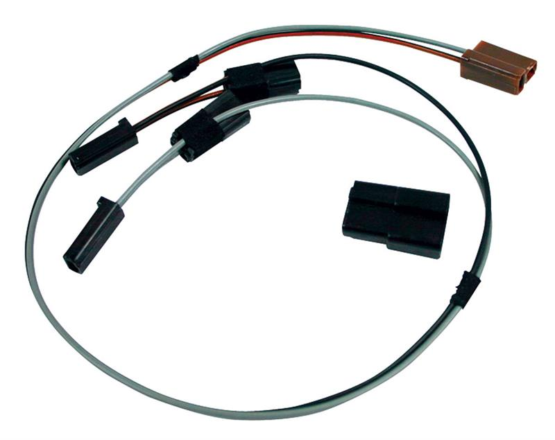 Clock Wiring Harness w/ Top Dash Mounted Clock, 1964-65 Chevrolet Chevelle,  64 Nova/ Chevy II & 66 ImpalaAuto Obsession