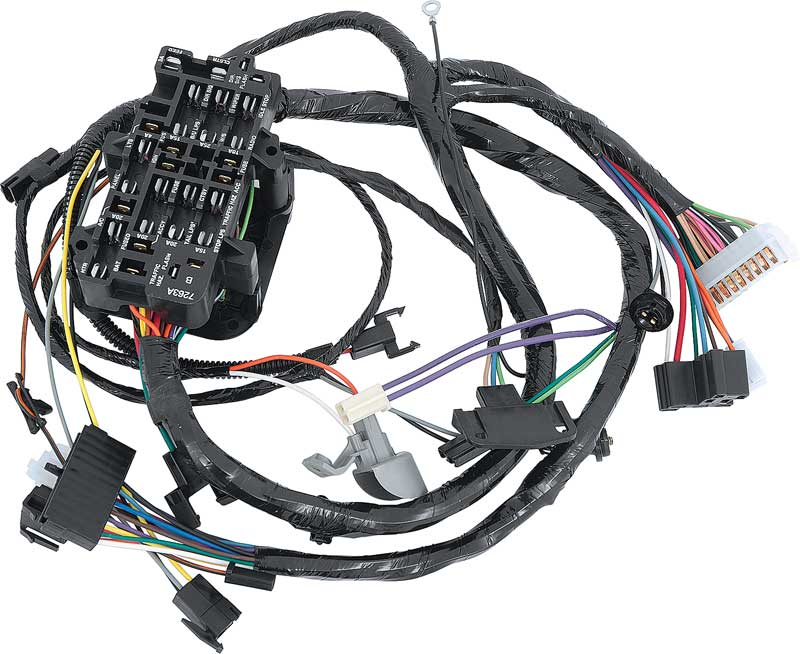 Dash Wiring Harness, 1964-65 Chevy/ GMC Truck on 1990 chevy c1500 wiring harness, 1965 chevy c10 brake lines, 1965 chevy c10 cab parts, 1965 chevy c10 crossmember, chevy s10 v8 wiring harness, 1965 chevy c10 horn button,