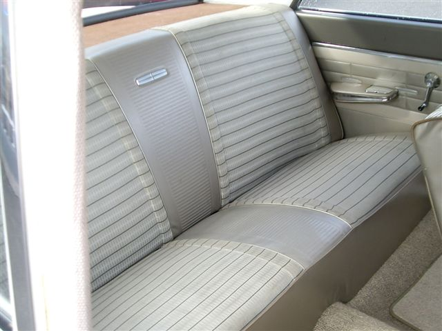 Seat Upholstery Imported 1964 Fairlane 500 Seat Cover