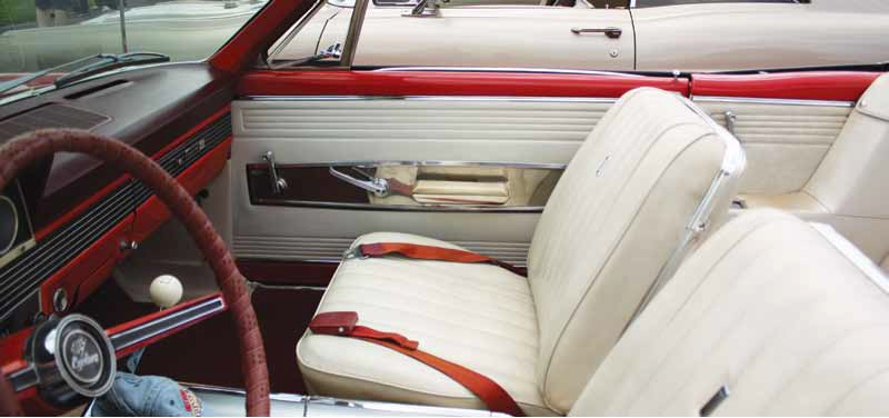 Seat Upholstery Imported 1966 Comet Cyclone Convertible