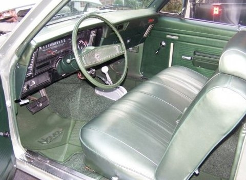 1969 70 Nova Standard 2 Door Interior Kits