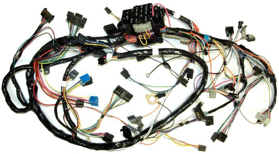 dash wiring harness car & wagon, 1960 chevrolet corvair  auto obsession