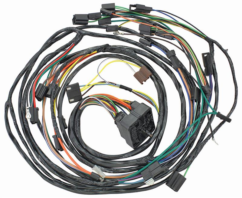 [SCHEMATICS_4JK]  Forward Lamp & Air Conditioning Wiring Harness Except Eldorado, 1967  Cadillac   Cadillac Wiring Harness      Auto Obsession