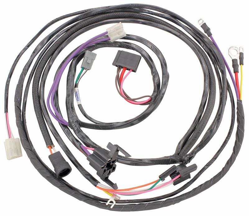 engine wiring harness w ignition switch to engine except fleetwood rh autoobsession com classic car wiring harness kits Online Car Wiring Diagrams