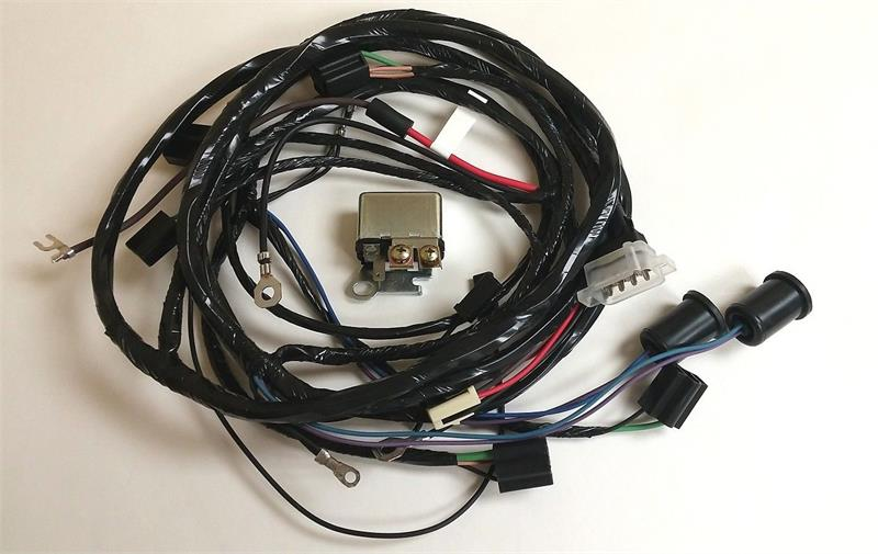 Forward Lamp Wiring Harness, 1961 Chevy Impala