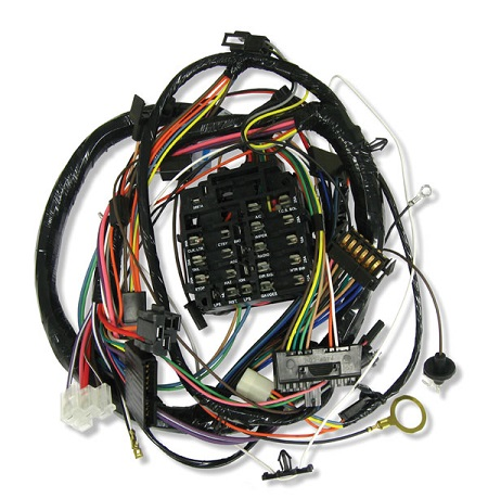 dash/instrument cluster wiring harnesses, 1971 chevrolet camaro  auto obsession