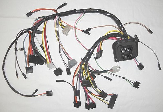 Dash Wiring Harness  1972 Amc Javelin  U0026 Amx
