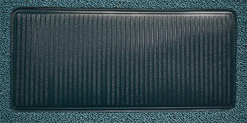 for 1958 Chevy Impala 2 Door Hardtop 80//20 Loop 17-Bright Blue Complete Carpet