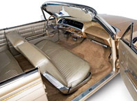 1963 Chevy Impala Convertible Non Ss Interior Package Kit