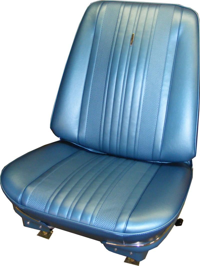Pre Assembled Bucket Seats Us Made 1970 Chevelle El
