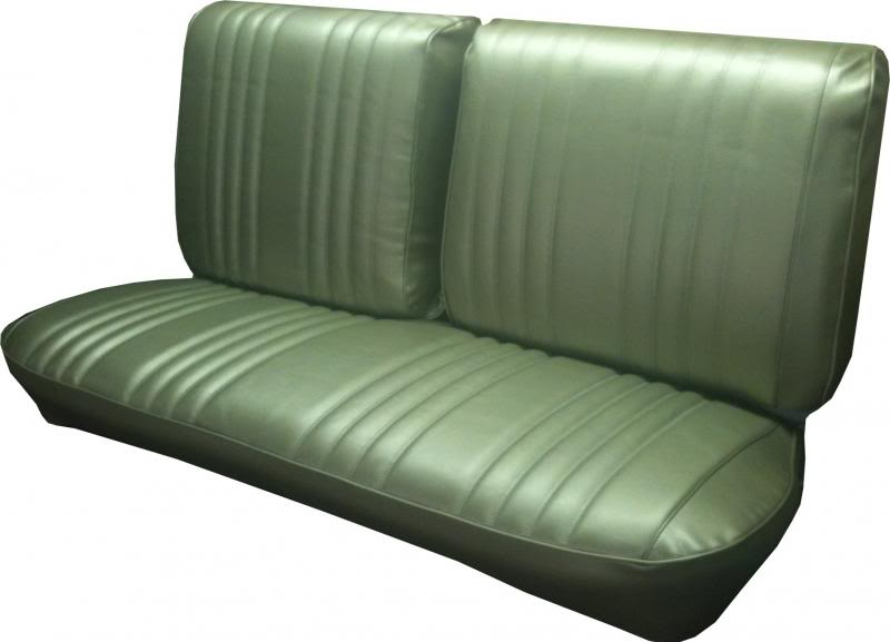 Seat Upholstery Imported 1968 Impala Split Bench Seat