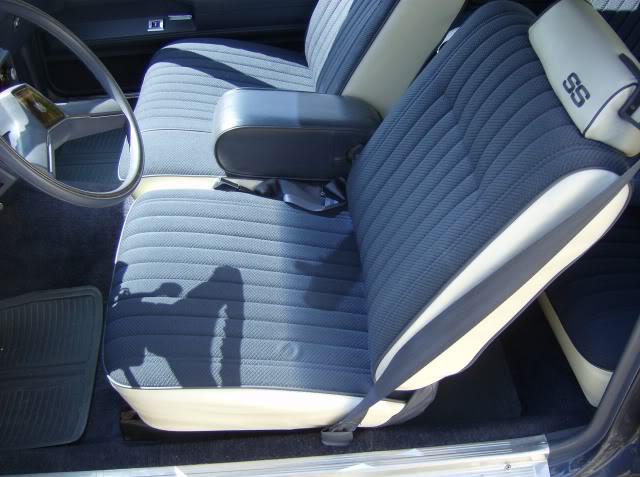 Tremendous Seat Upholstery 1983 Monte Carlo Ss Seat Cover Front Inzonedesignstudio Interior Chair Design Inzonedesignstudiocom
