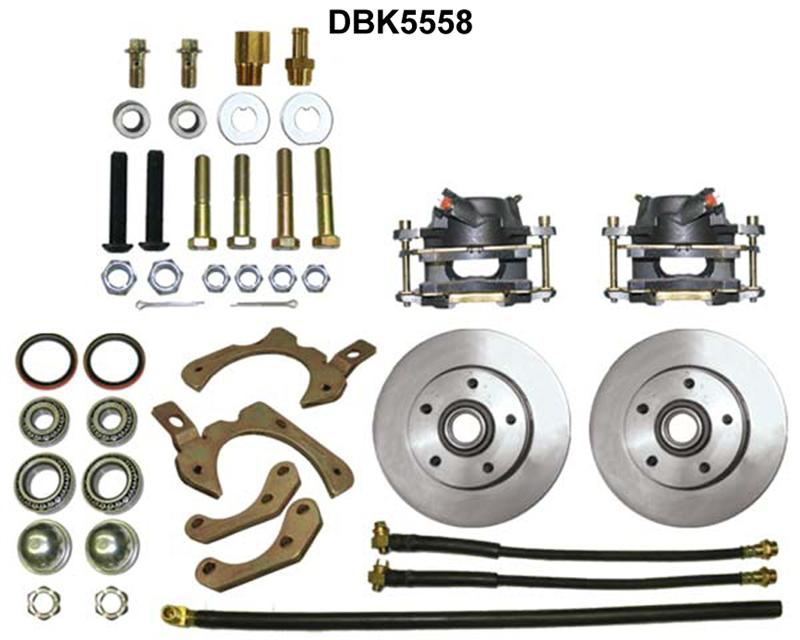Autoobsession Disc Brake Conversion Kits 1955 Chevy 1956