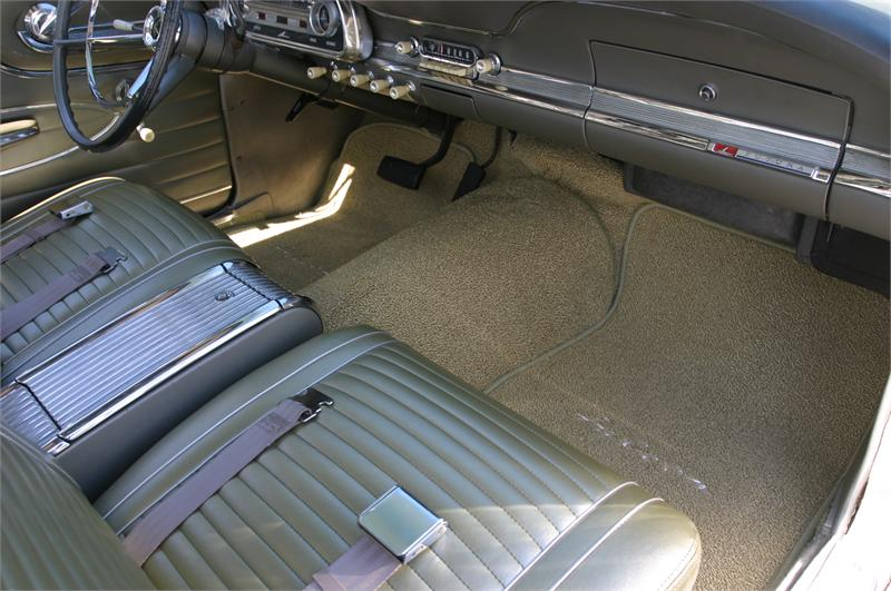 Seat Upholstery, 1963 Falcon / Futura Seat Cover - Front/Rear