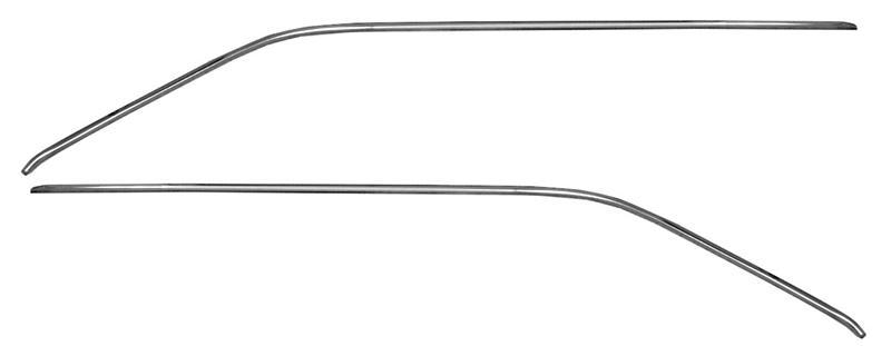 drip rail moldings 2  coupe