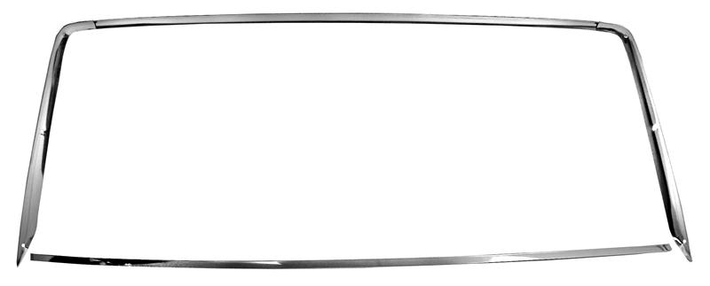 1967 Mustang Coupe Rear Window Trim