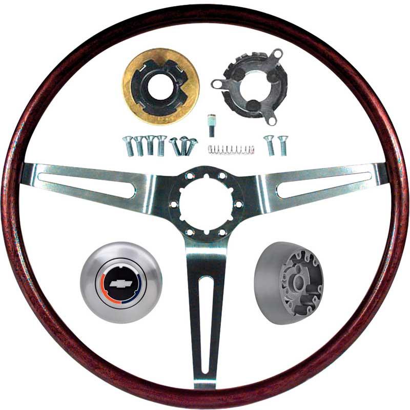 Wood Wheel Horn Cap Mount Contact Kit without Tilt 69 Camaro