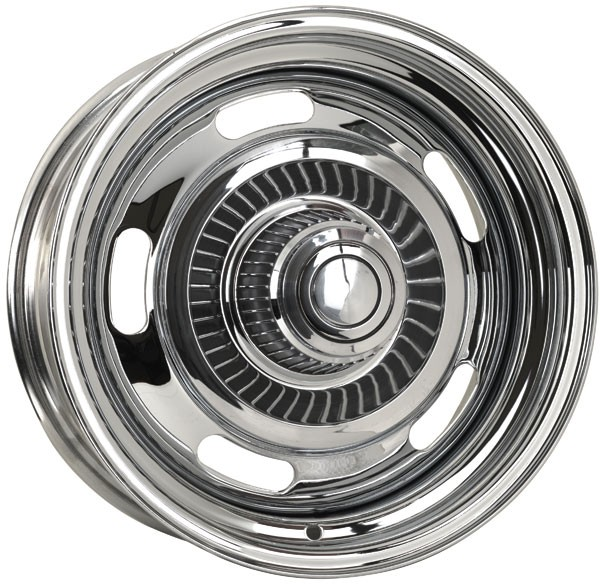 Rally Wheel Chevrolet Chrome Plated