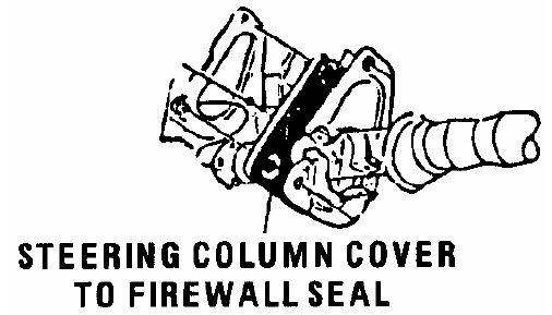 Steering Column Seals 1968 72 Malibu Monte Carlo Gto Lemans