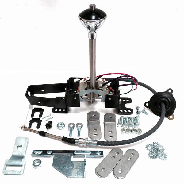 Shifter Conversion Kits, Th350, Th400, Th700-R-4, Th200-4R, 4L60