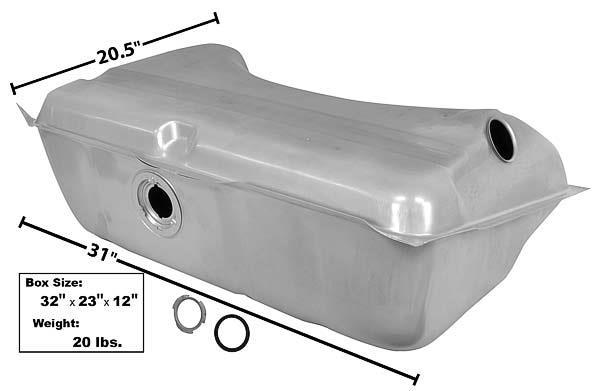 18 Gallon w//o Vent Pipe Dart Valiant Fuel Gas Tank 68-70 Barracuda