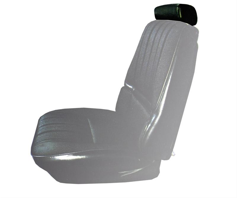Groovy Bench Seat Headrest Cover 1975 79 Chevy Ii Nova Caraccident5 Cool Chair Designs And Ideas Caraccident5Info