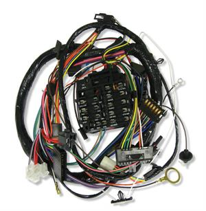 dash  instrument cluster wiring harness  1970 chevrolet camaro