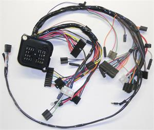 dash wiring harness w 6 cylinder \u0026 v 8 all, 1971 amc hornet Wire Harness Drawing