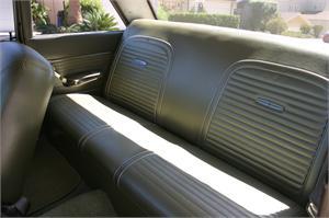 Seat Upholstery 1963 Falcon Futura Seat Cover Rear