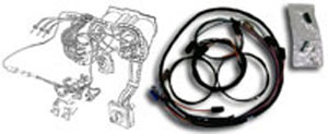 tachometer conversion wiring harness 1969 chevelle el. Black Bedroom Furniture Sets. Home Design Ideas