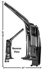 Autoobsession Com 1968 72 Chevelle Door Parts Hinges Latches Window Regulators